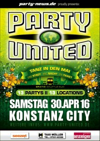 PARTY UNITED – Tanz in den Mai !!