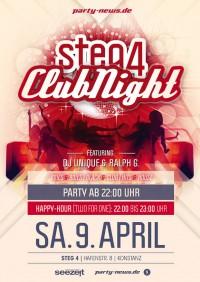 Steg 4 Party – Sa.9.4.16 Steg 4, Konstanz